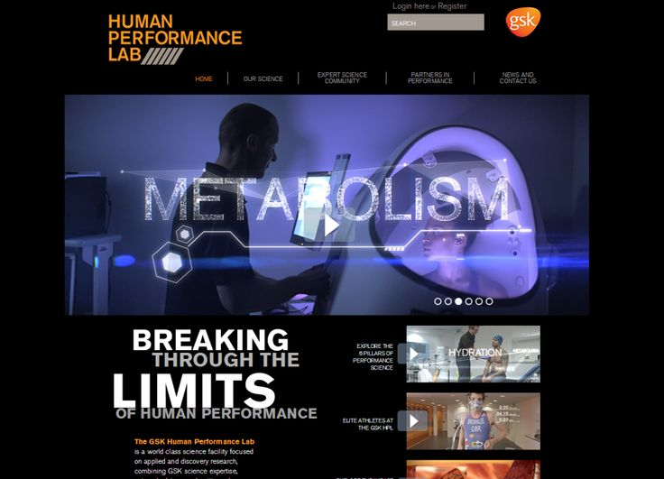 How can we help elite athletes up their game and also drive scientific innovation? Check out the new GSK Human Performance Lab website to see how our world class facility is working in partnership with some of the world's leading performers – from explorers to Olympic athletes – to help them break through the limits of human performance. http://gsk.to/1gf8Th5