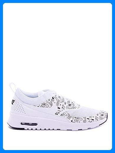 Nike Damen Wmns Air Max Thea Print Turnschuhe, Weiß (White / White-Black), 38 EU - Sneakers für frauen (*Partner-Link)