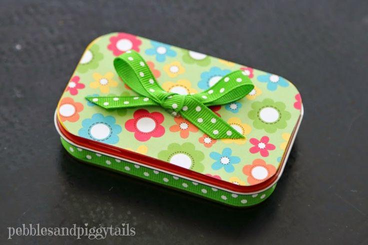 Pebbles & Piggytails: Altoid Tin Reuse Bug Craft Toy