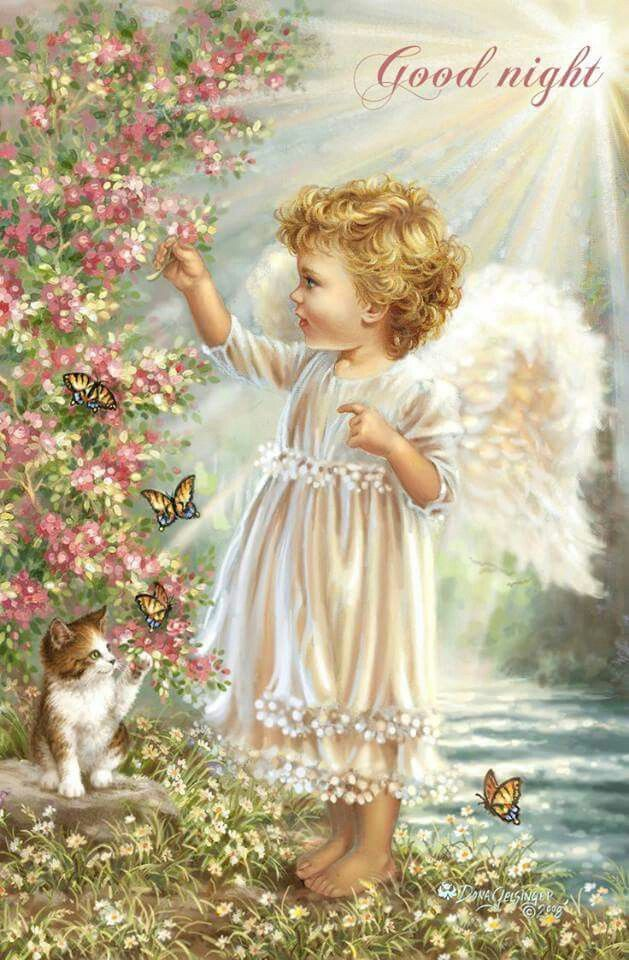 Pin by Mary Edwards on Goodnight Angel images, Angel