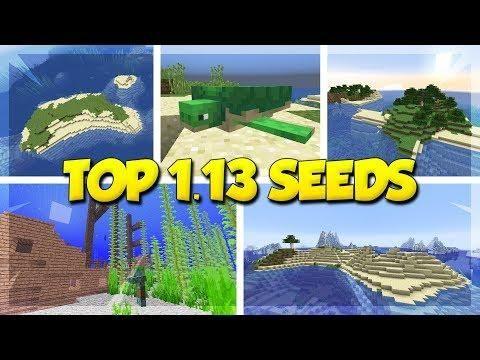 TOP 5 SURVIVAL ISLAND SEEDS For MINECRAFT 1 13! (Minecraft Update