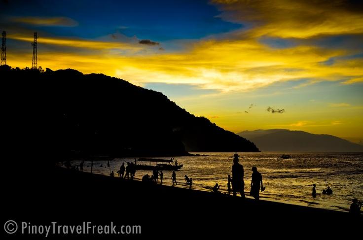 Sunset at Puerto Galera, Oriental Mindoro