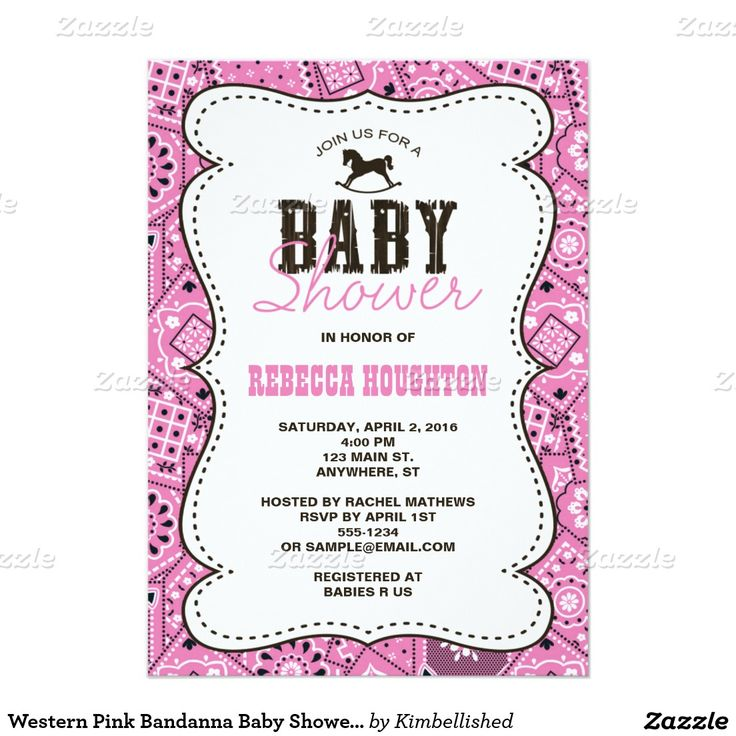 78 best baby showers by kimbellished images on pinterest | baby, Einladungen