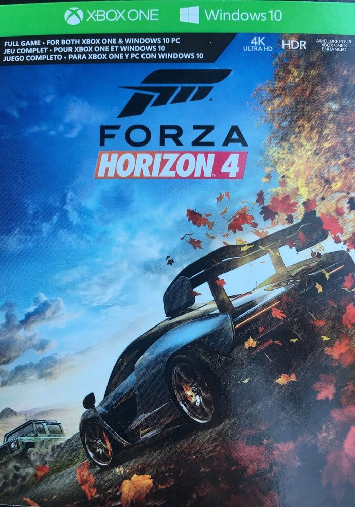 forza horizon 4 ultimate edition xbox one disc