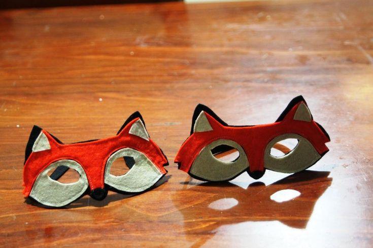 Mumma made it: foxy masks and a dose of the dreaded mumma guilt
