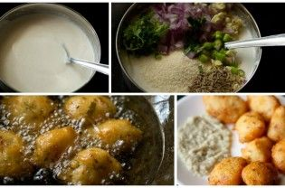 Punugulu can be made with freshly ground Idli batter or fermented Idli or Dosa batter. You can use Idli batter which has become slightly sour or a 2 to 3 days old batter. There are many variations you can make in the Punugulu recipe like adding greens to the batter or changing the spices & herbs as per your taste....  Read More