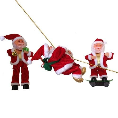 Bu yılbaşında şarkı söyleyerek bacadan inen bir Noel Baba görürseniz hiç şaşırmayın  Noel Baba Yılbaşı Hediyeleri ile yeni yılın ruhunu yaşayacaksınız. İster çocuklarınıza hediye edin ister arkadaşlarınıza. Hem şarkı söyleyip hem hareket eden Noel Baba Yılbaşı Hediyeleri çok sevimli.