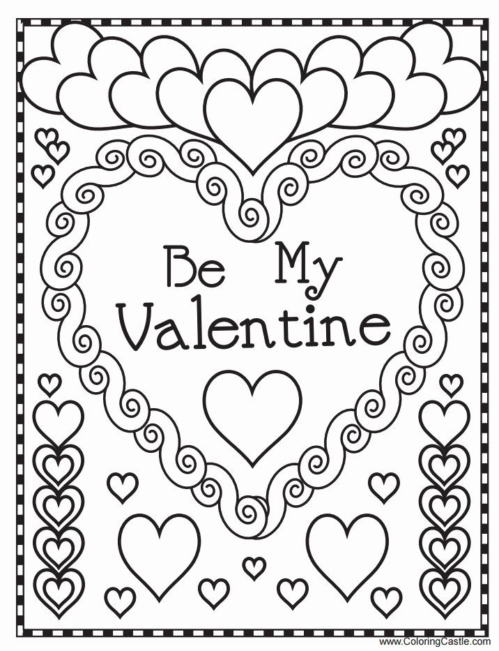 Valentines Coloring Pages Printable New 543 Free Printable Valentine… Printable  Valentines Coloring Pages, Valentine Coloring Sheets, Valentines Day  Coloring Page