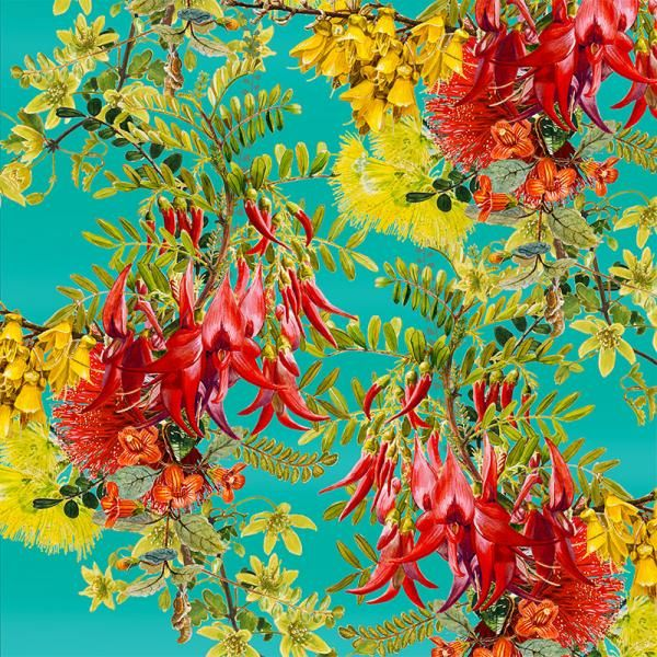 Pohutukawa and Kakabeak, New Zealand Flora Series, Limited Edition, 3 sizes from NZ$145