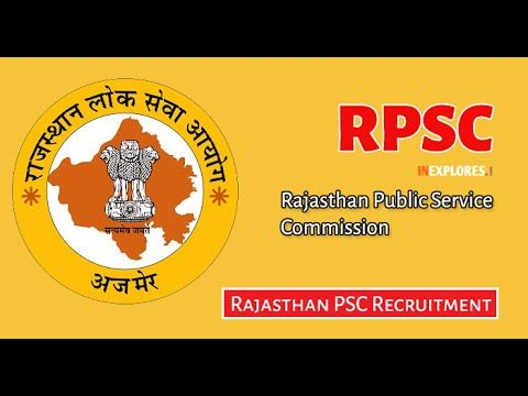 RPSC Vacancy Apply Online 2016, Rajastha RPSC Recruitment 2016-17