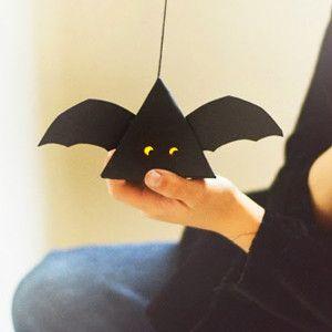 batty paper lanterns kids halloween craftsdiy halloween decorationsbaby