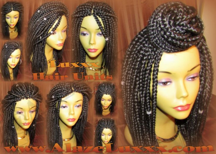 Cornrows Wigs Full Wigs Lace Wigs Box Braid Wig! Hand-Made Poetic Justice Box Braid Unit Wig. Singles Individuals Zillions