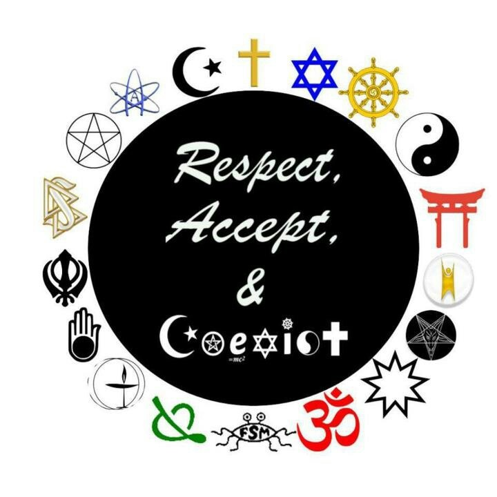 Respect accept and coexist coexist pinterest