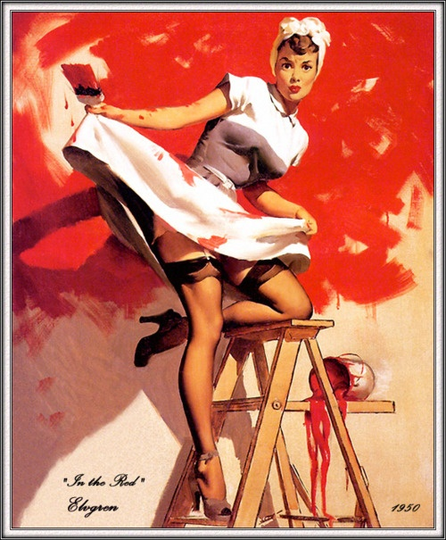 Love the old school pinup girls