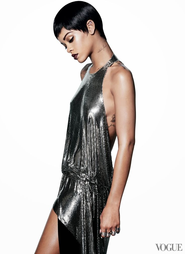 Fab Glance Fashion & Style: MODEL BEHAVIOR: Rihanna cover Vogue US for the third time!