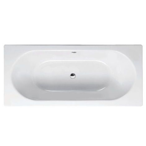 Wash Thermaform bath 1700 x 750 (wider than than the average 700mm). Warmer to the touch than steel & retains heat well. Note edges may be thicker however, to allow for taps.