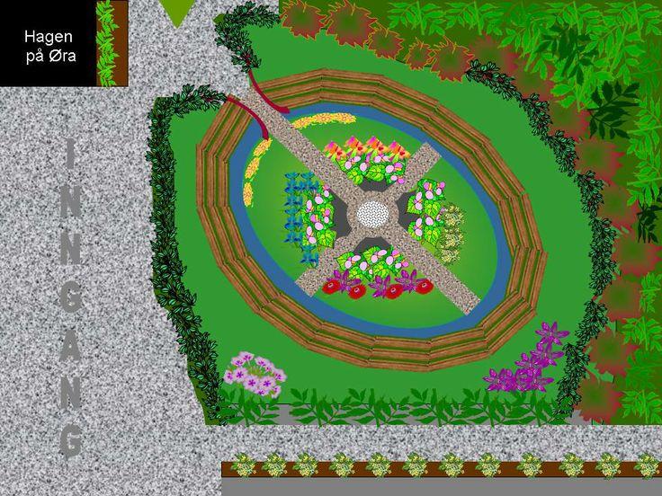 Forslag til hagedam på Øra 1