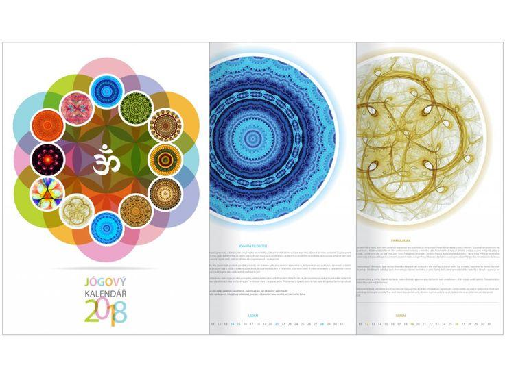 Jógový nástěnný kalendář 2018. Jógový kalendář pro rok 2018 plný překrásných mandal, ve kterém se postupně každý měsíc seznámíte s jógovou filosofií, včetně praktického návodu, jak ji zařadit do svých běžných dnů. Ideální jako dárek pro vás nebo...
