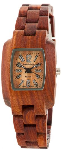 TENSE Wood Watch: This modern yet classic sport collection is one of our favorite line of watches.  Made of natural solid Sandalwood.  Mini Timber - Model M8102S. $135  Great #Mother's Day gift idea!   Find it here: http://tensewatch.com/store/womens-c-30_36/mini-timber-model-m8102s-p-338.html