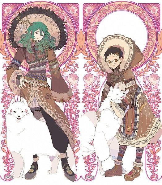 Makishima Yuusuke and Onoda Sakamichi