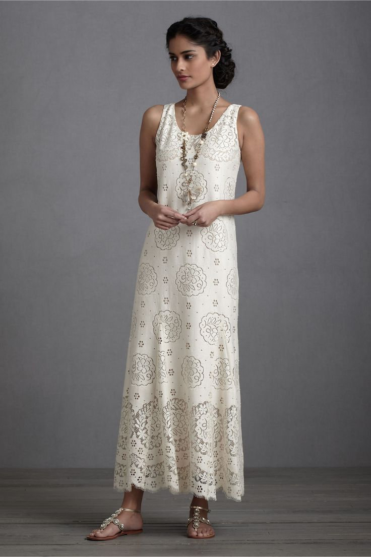 Anna Sui Dress Bhldn Garlands Of Lace Dress from