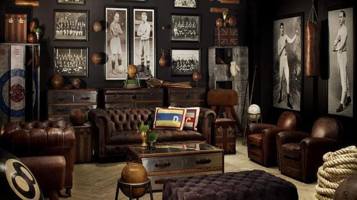 Whether it's a breather from the ol' girlfriend or a break from fighting zombies, your bunker needs a badass man cave dedicated to relaxation. #diyformen #diymancave #mancave