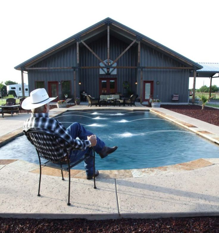 Very Impressive Full Metal Building Home with Epic Pool & Stable (10 HQ pictures)