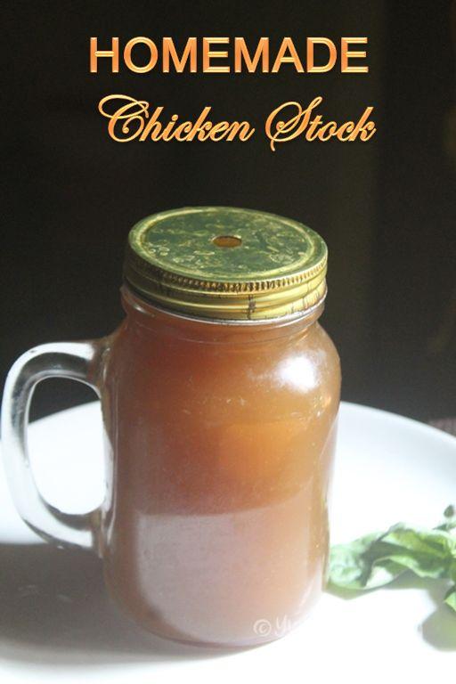 Chicken Stock Recipe - Easy 30 Minute Chicken Broth Recipe