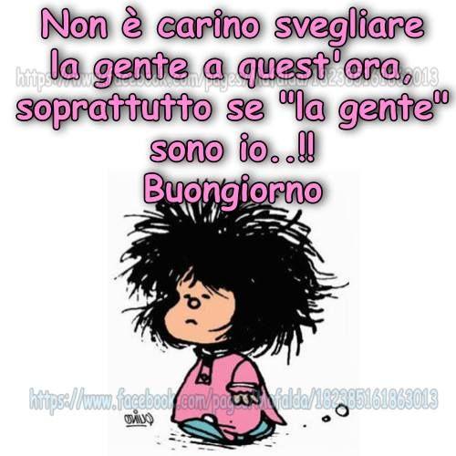 immagine correlata mafalda pinterest buongiorno