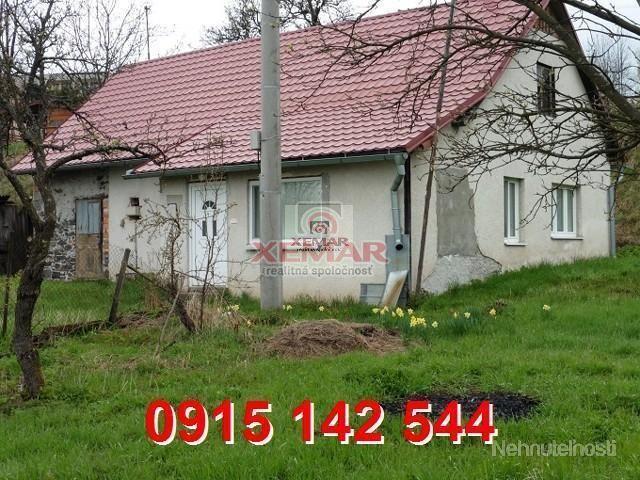 Na predaj rodinný dom vhodný na chalupu v obci Stará Huta