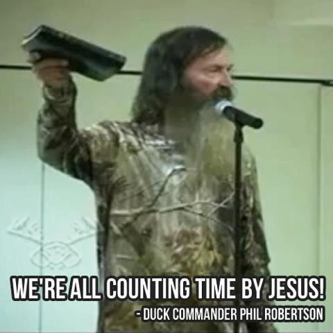 Duck Dynasty star Phil Robertson preaches a POWERFUL sermon that you need to hear! Even celebrities can preach the word of God!    THIS IS A MUST-WATCH!  http://www.godvine.com/Phil-Robertson-Preaches-fb-cr-3062.html