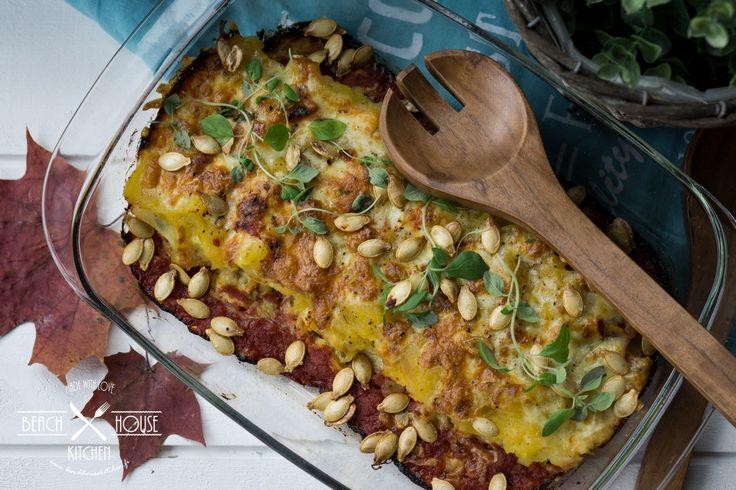 Kurpitsa-cheddar cannellonit