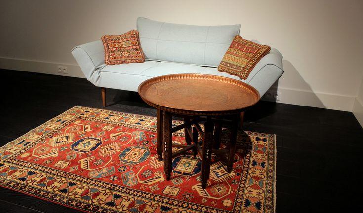 Kazak rug http://www.sarmatiatrading.pl/kategoria-produktu/kilimy-i-dywany-etniczne/