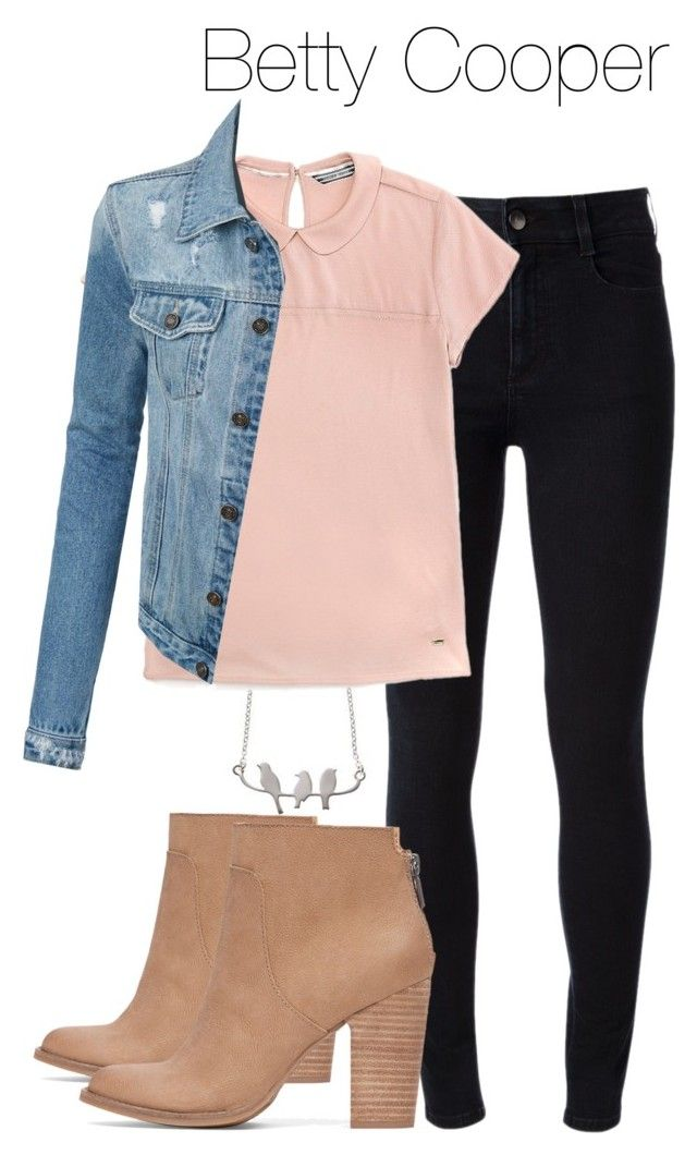 Betty Cooper - Riverdale by shadyannon on Polyvore featuring polyvore fashion style Tommy Hilfiger LE3NO STELLA McCARTNEY Lucky Brand clothing