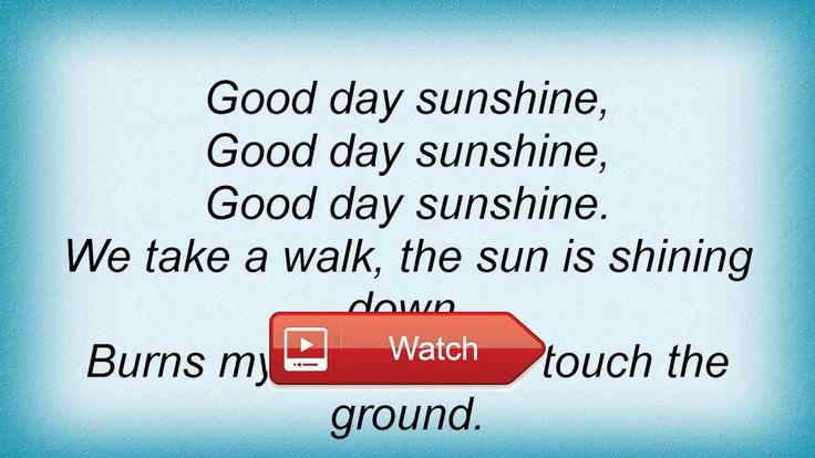The Beatles - Good Day Sunshine Lyrics - lyr1cs.com