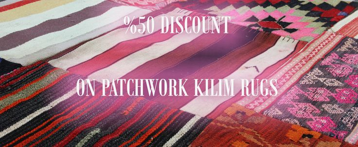 50% Discount on Patchwork Rugs!!! Great Deal!!