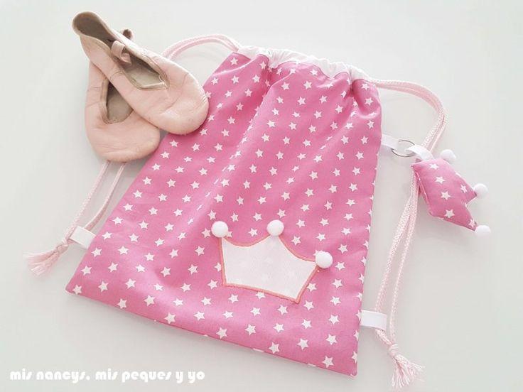 mis nancys, mis peques y yo, mochila pandilleando para ballet, bolsa para guardar zapatillas de ballet