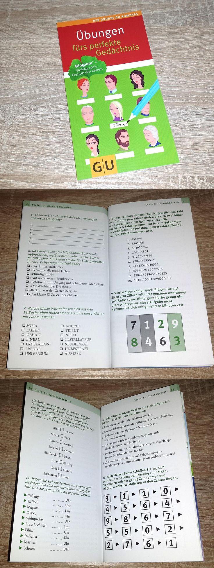 """""""Übungen fürs perfekte Gedächtnis"""", dieses Büchlein bietet einige Übungen des Buches. Dieser Auszug des kompletten Buches gibt es von Gingium. Es beinhaltet vielseitige und interessante…"""