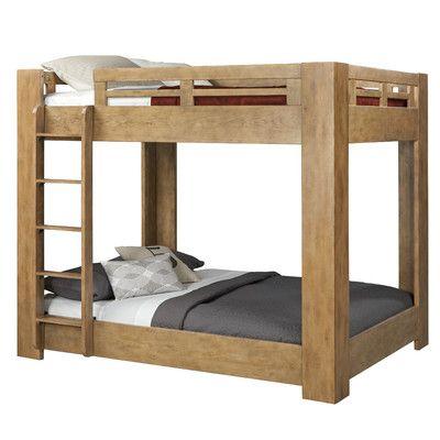 Loon Peak Natural Elements Standard Bunk Bed & Reviews   Wayfair