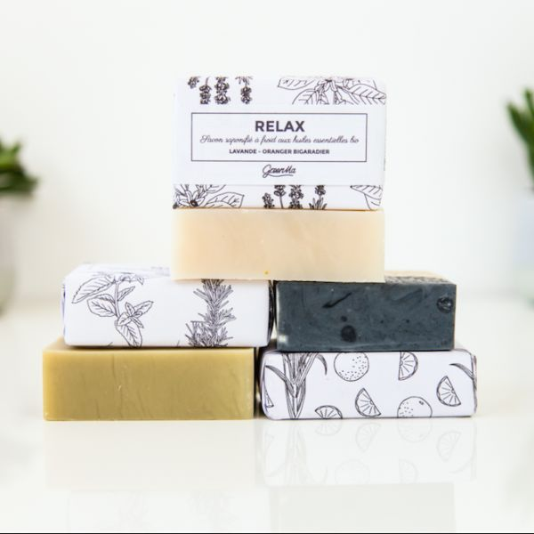 GreenMa -- 100% natural soaps with essential oils