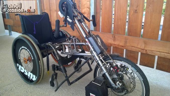 SPEEDY 3° roue velo electrique pour fauteuil...