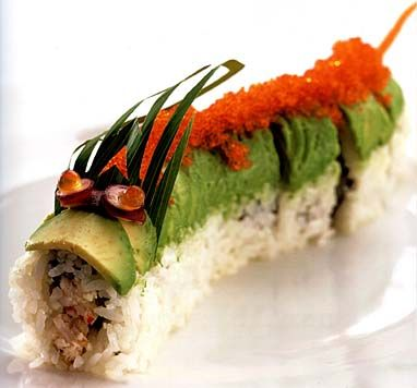 Dragon Sushi?  So cool                                                                                                                                                                                 More
