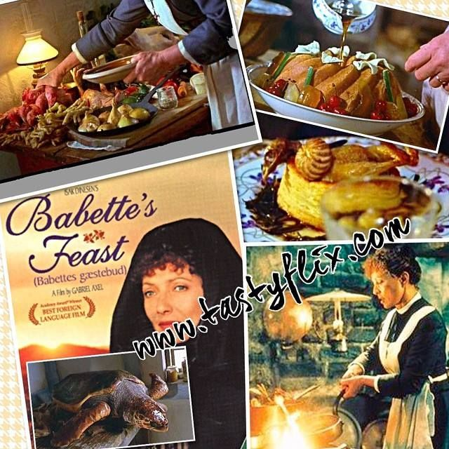 """In keeping with the holiday festivities aka feasting…my Friday Nite Food Film suggestion is a staple on my list of ever increasing all time favorites """"BABETTE'S FEAST"""" (aka Babettes Gaestebud). Full movie review and recipe for Blini with Caviar see: http://tastyflix.com/?p=98 and to view the thoughtful and inspiring cooking scenes visit: http://www.pinterest.com/bitterchef/tastyflix/ #tastyflix"""