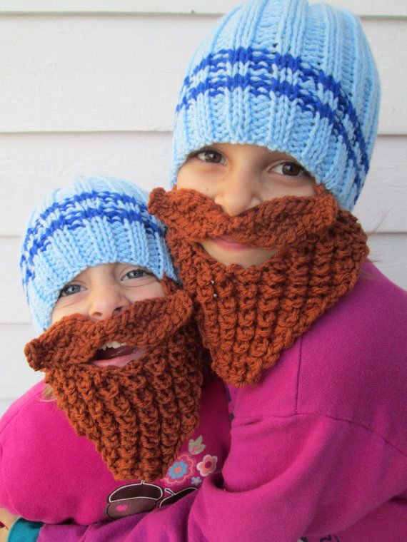 Reserved For Blue Beard Hat Beanie Lumberjack Childs Toddler Wild Beared Knitted Childrens Size Pictures Bea