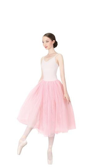 """Long Tulle skirt and """"La Carlotta"""" pointe shoes by Repetto - Collection fall-winter 2015."""