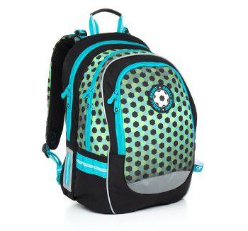 Plecak dla prawdziwego fana piłki nożnej - model CHI 800 E - Green od 2 do 6 klasy.