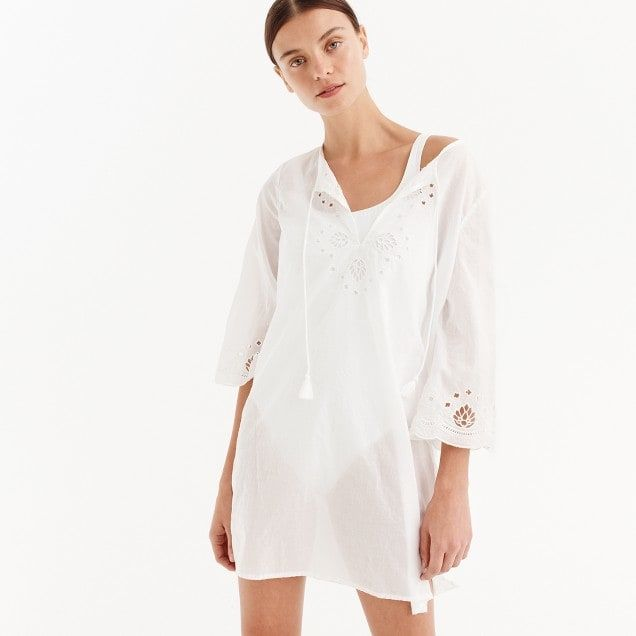 b57c7b0d6b cotton voile eyelet tunic : women beach cover-ups | Just A Few Of My ...