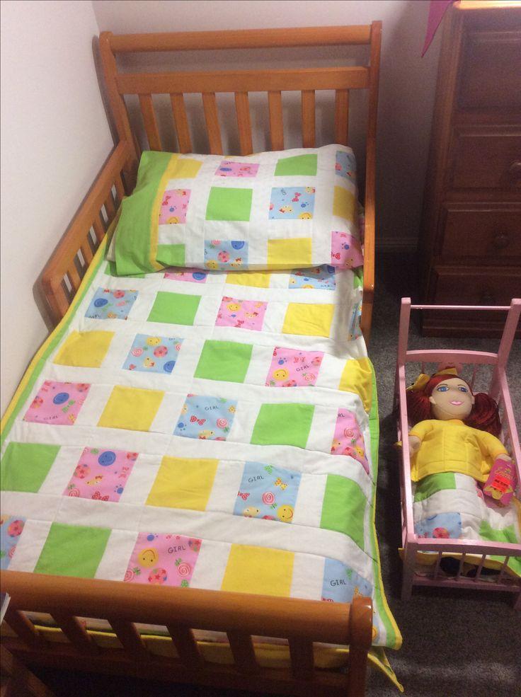 Square Quilt: Toddler & Doll - Jemima