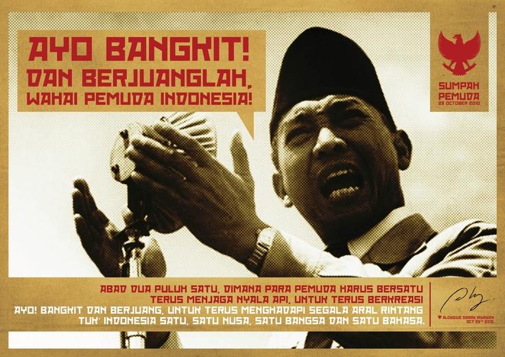 Sumpah Pemuda Day Poster - 2010