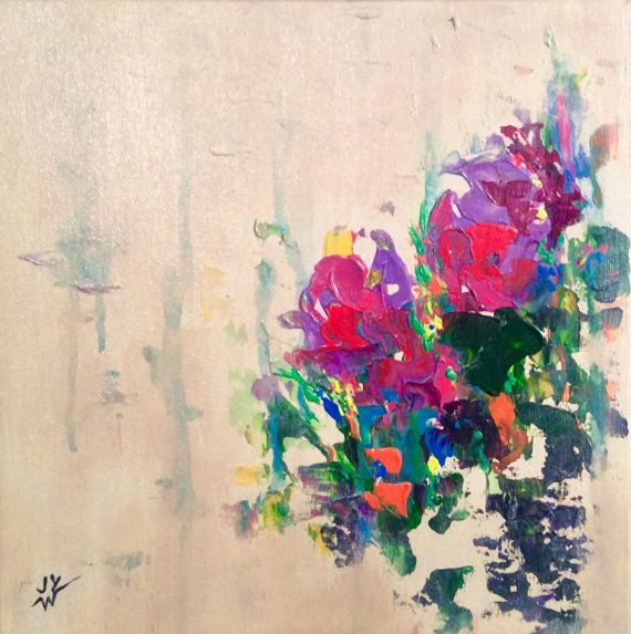 Abstract Painting Amour Fine Art Wall Art Wall Decor by Artx26